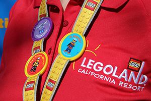 Lego Legoland Hotel Resort Pass Lanyard Set of 2